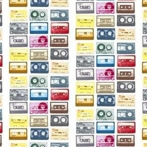 Mix Tape Cassette 80s Retro