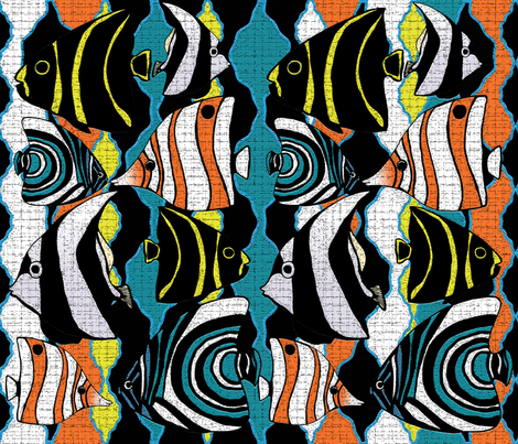 Great_Reef fabric by yazooky on Spoonflower - custom fabric