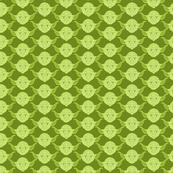 Yoda Print in Pea Green