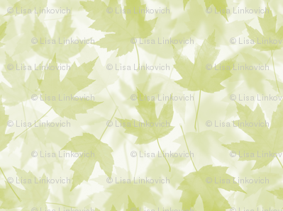 Maple Layers - light green