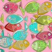 fish pink