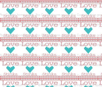 Love_Stinks_Cross Stitch