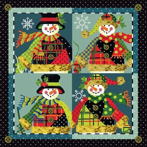 Four_Square_Snowmen_