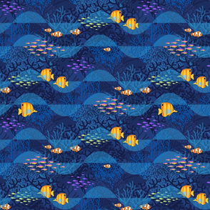 Indigo Dreams with Golden Fishes_12