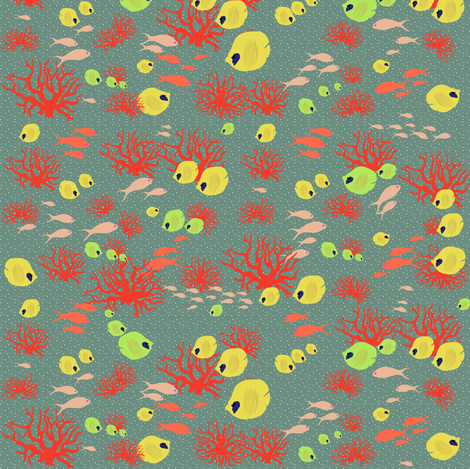 reef_dream fabric by axelle_design on Spoonflower - custom fabric