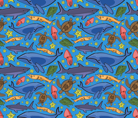 BARRIER_REEF fabric by ccapone on Spoonflower - custom fabric