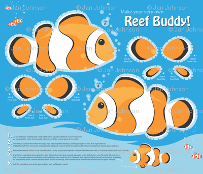 Reef Buddy, a Clownfish Softie
