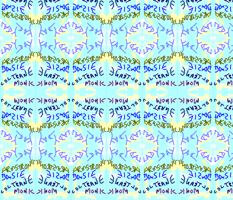 Jazzy Sunrise  fabric by menny on Spoonflower - custom fabric