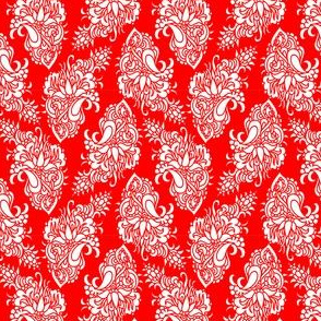 Chinese paisley - cutting design