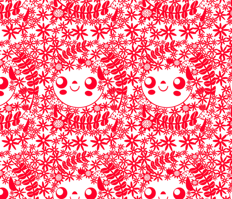Paper Cut fabric by heidikenney on Spoonflower - custom fabric