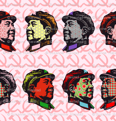 Pop Mao on pink
