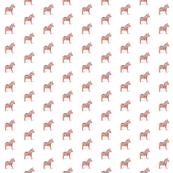Dala Horse Orange