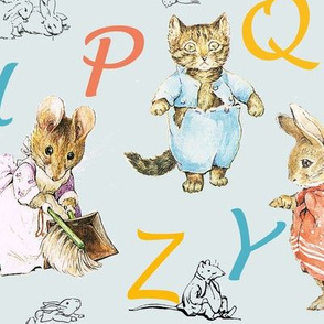 Alphabet  Beatrix Potter Nursery Rhymes