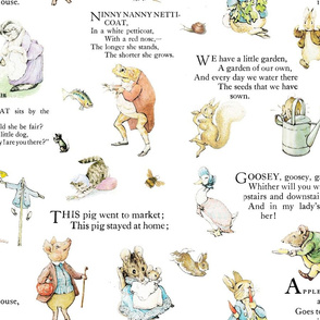 Beatrix Potter Peter Rabbit  Nursery Rhymes