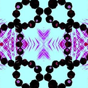 Disco beads -Bianca