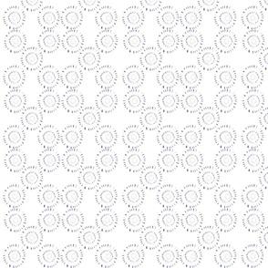 Blue Flower Quilt Variation