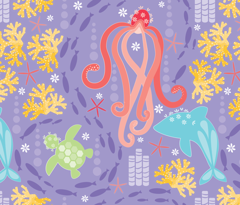 Reef fabric by tarabehlers on Spoonflower - custom fabric