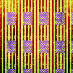 Zombie Flag Fabric