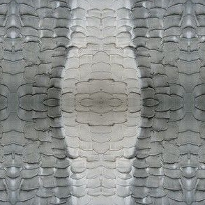 rough scalloped stone