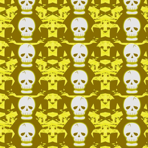 Skulltastic in Yellow