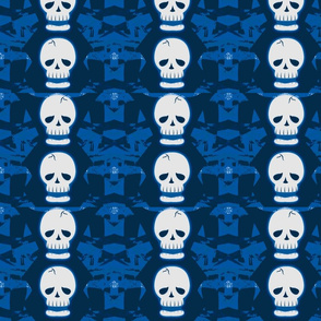 Skulltastic in Blue