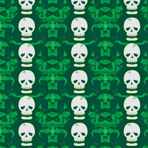 Skulltastic in Green
