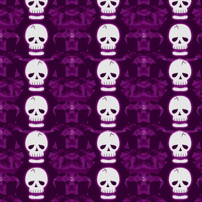 Skulltastic in Purple