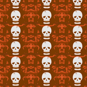 Skulltastic in Orange