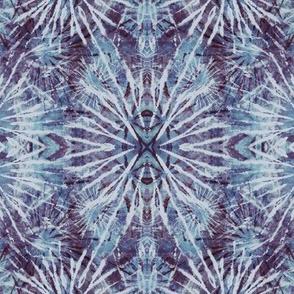 Indigo Blue Tie Dye