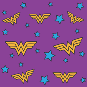 Purple Wonder Woman