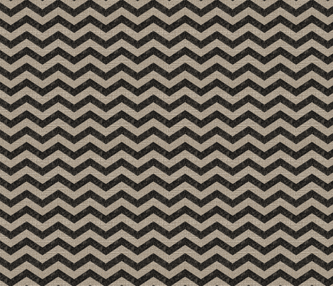 Chevron in Black on Linen fabric by jolenebalyeatdesigns on Spoonflower - custom fabric
