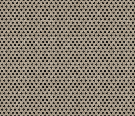 Dots in Black on Linen fabric by jolenebalyeatdesigns on Spoonflower - custom fabric