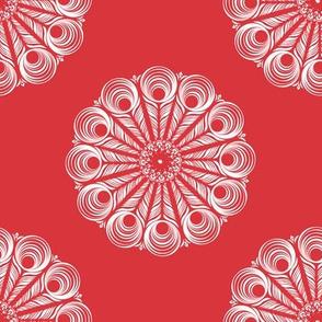 ChineseMandala - red