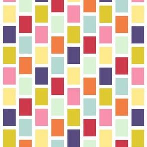 April Showers: Colorful Bricks