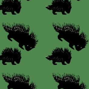 Foraging Porcupines