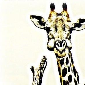 Munch A Giraffe