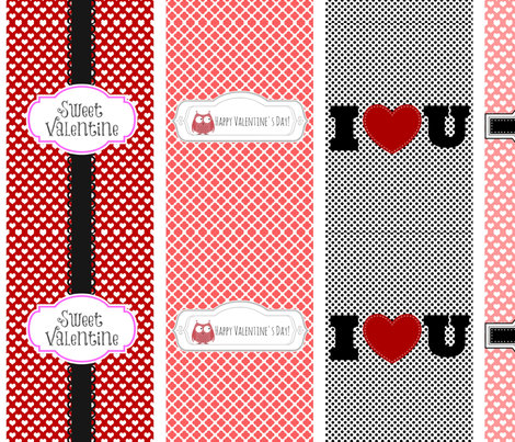 Valentines fabric by natitys on Spoonflower - custom fabric
