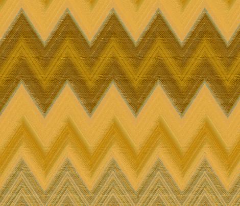 chalk chevron gold