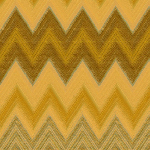 chalk chevron gold