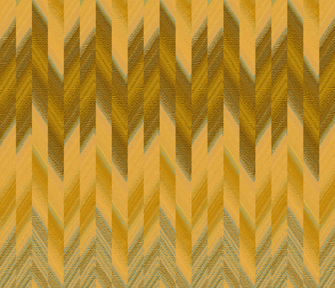 broken chevron gold fabric by weavingmajor on Spoonflower - custom fabric