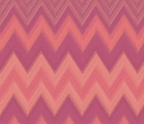 chalk chevron pink fabric by weavingmajor on Spoonflower - custom fabric