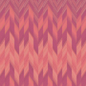 broken chevron pink