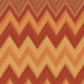 chalk chevron copper