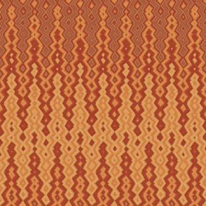 diamond chevron copper