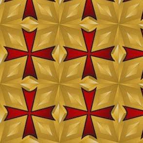 templar_cross_prism_old_gold_and_red