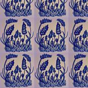 grape_hyacinth_moosecat_warm retro moosecat