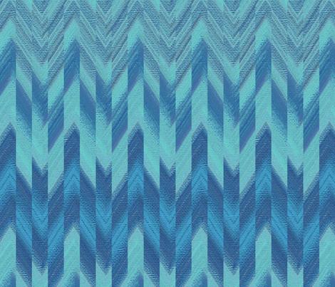 broken chevron blue