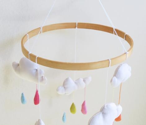 April Showers: Nursery Decorations Panel