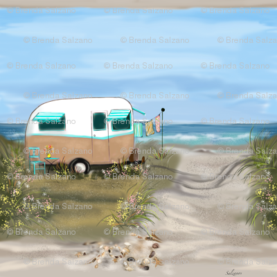 Camping at the Shore #1