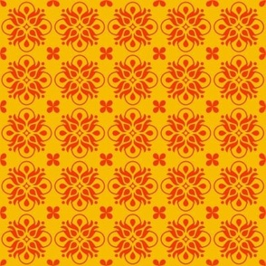 Yellow Floral Tiles